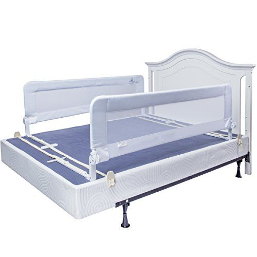 Toddler Bed Rail Guard For Convertible, Queen Bed Frame With Guard Rails