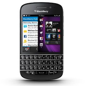 Hands On With the BlackBerry Q10