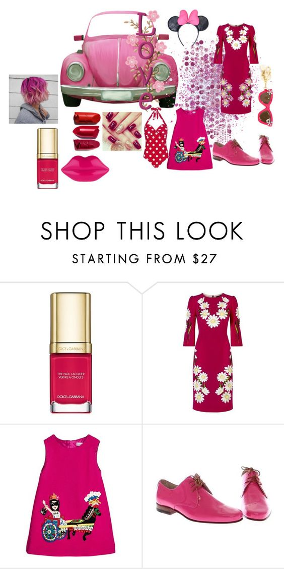 """Pink....Rose..."" by rosastreet on Polyvore featuring moda e Dolce&Gabbana"