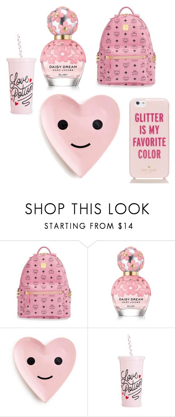 """""""Sin título #473"""" by guiwerlen on Polyvore featuring moda, MCM, Marc Jacobs, ban.do y Kate Spade"""