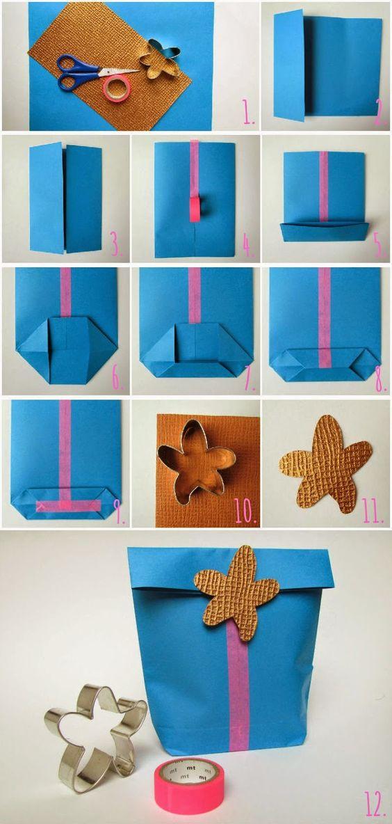 Paper bag - Bolsa de papel: