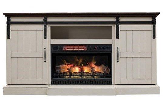 Morris Home Hogan Cfbarn Door Media Mantel Fireplace Fireplace