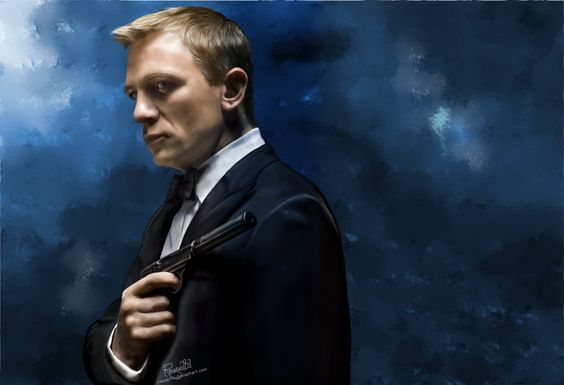 James Bond by Rousetta on DeviantArt