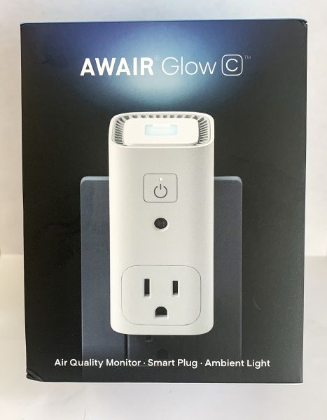 Awair Glow C Air Quality Monitor And Smart Plug Review Air