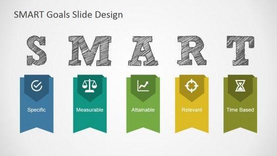 Smart Goals Slide Design For Powerpoint