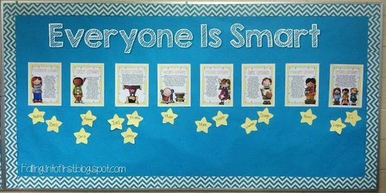 Perfect first week of school lesson using multiple intelligences! This will make the kids feel so good about themselves!!