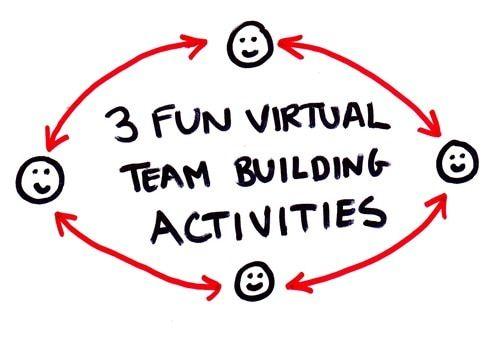 3 Easy Virtual Team Building Activities Games Work Team Building Activities Fun Team Building Activities Work Team Building