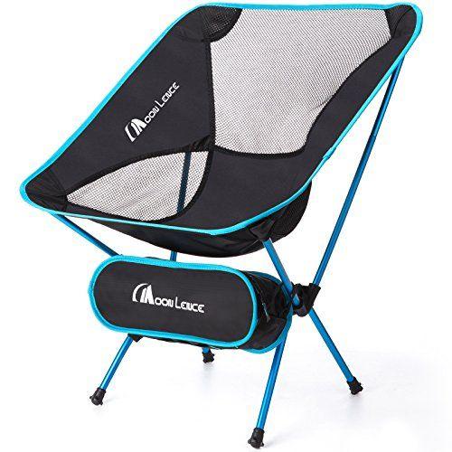 Moon Lence Outdoor Ultralight Portable Folding Chairs With Carry Bag Heavy Duty 242lbs Capacity Folding Camping Chairs Camping Chairs Heavy Duty Camping Chair