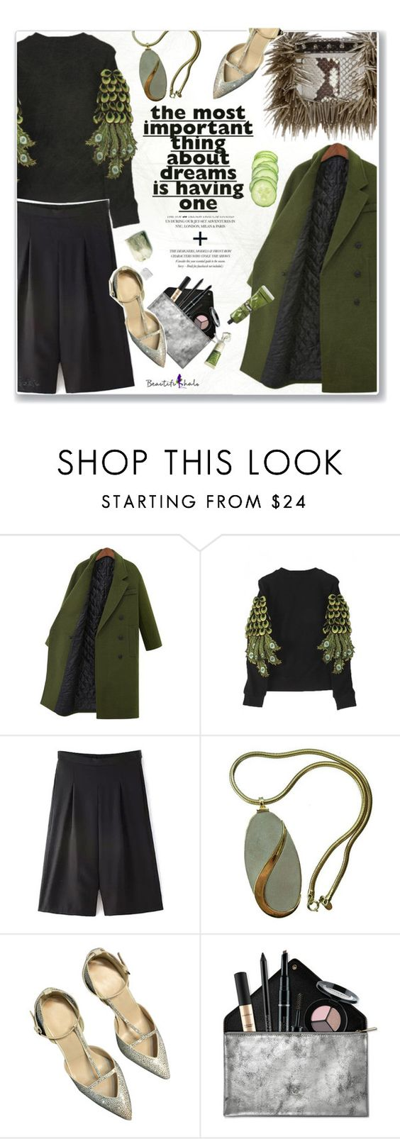 """""""Beautiful Halo 11"""" by kristina-susanto ❤ liked on Polyvore featuring mode, Kershaw, Smashbox, Aesop et bhalo"""