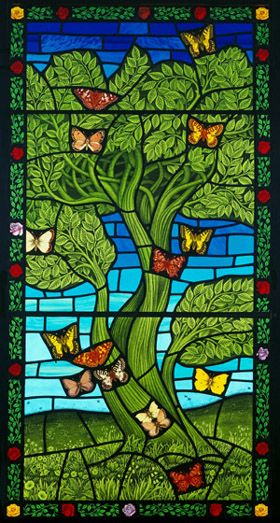 Tree & Butterfly - Brian James Waugh