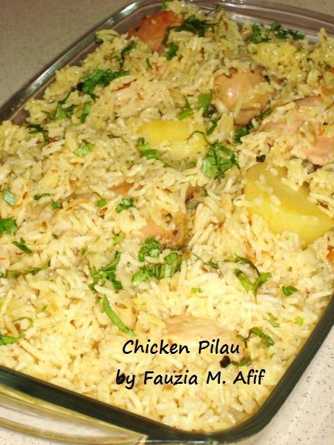 Chicken Pilau Fauzia 39 S Kitchen Fun Fauzias Recipes Pinterest Butt
