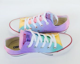 converse all star arc en ciel