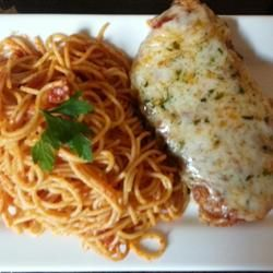 Tomato Chicken Parmesan -- this recipe was very good. I only needed ...
