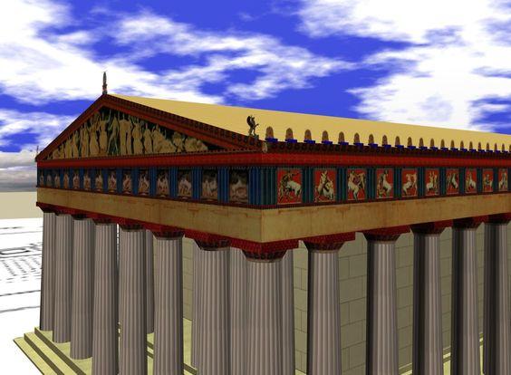El hombre que mutiló el Partenón.
