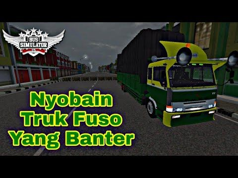 Mod Truk Fuso Tronton Sumatra Nyobain Truk Gede Youtube