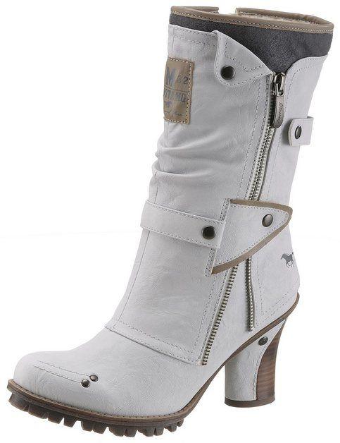 Mustang Shoes Winterstiefel | Winterstiefel, Stiefel und