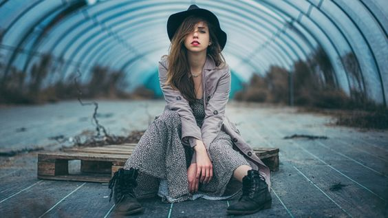 The gipsy Girl / Portrait  Model: Ananda Modelpage / http://strkng.com/s/5pi  Germany / Frankfurt    #Portrait #Germany #Frankfurt #bestof #international #contemporary #photography #strkng #picoftheday
