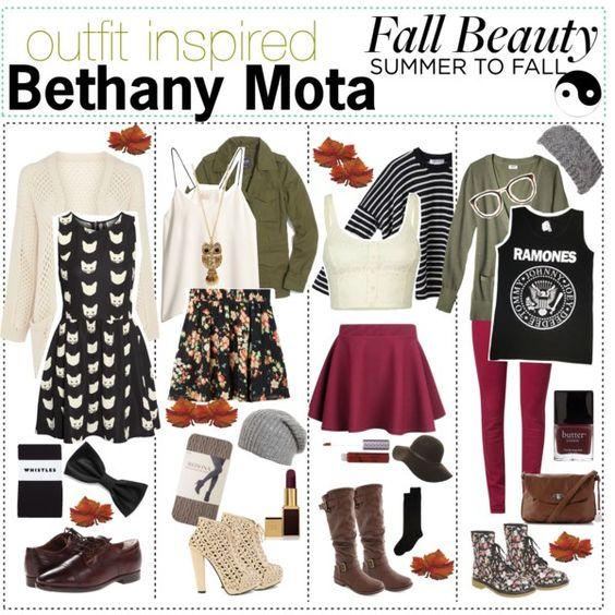 Bethany Mota Outfits | Bethany Mota Fall Outfits 2013 Comment which one u like!!