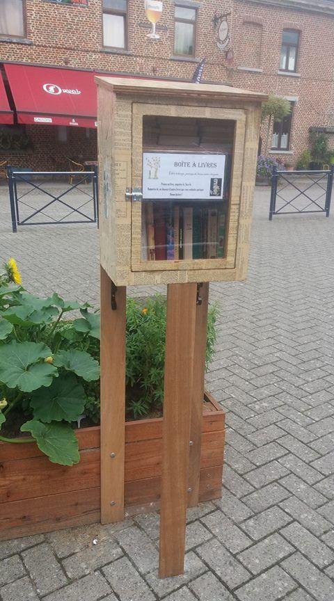 Boîte à livres Viesville