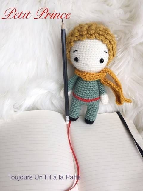 Amigurumi Krokmou Crochet Le Petit Prince Amigurumi Et