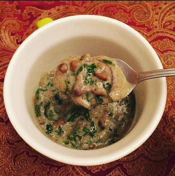 Creamy Amaranth Lentil Stew