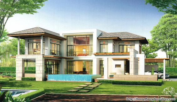 Modern House Design New Modern Tropical Style Double