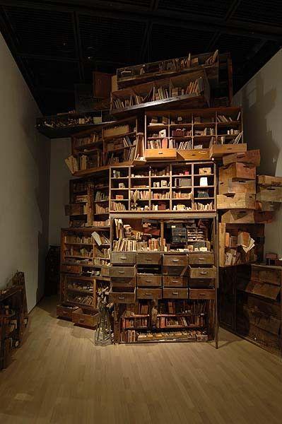 """About Memories"" installation by Hiroko Kono"