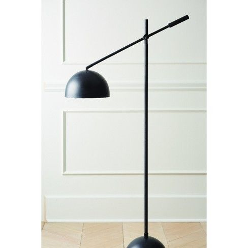 Metal Dome Task Floor Lamp Black Includes Energy Efficient Light Bulb Project 62 Leanne Fo Task Floor Lamp Black Floor Lamp Energy Efficient Light Bulbs