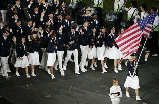 London Olympic Opening Ceremony: Team USA