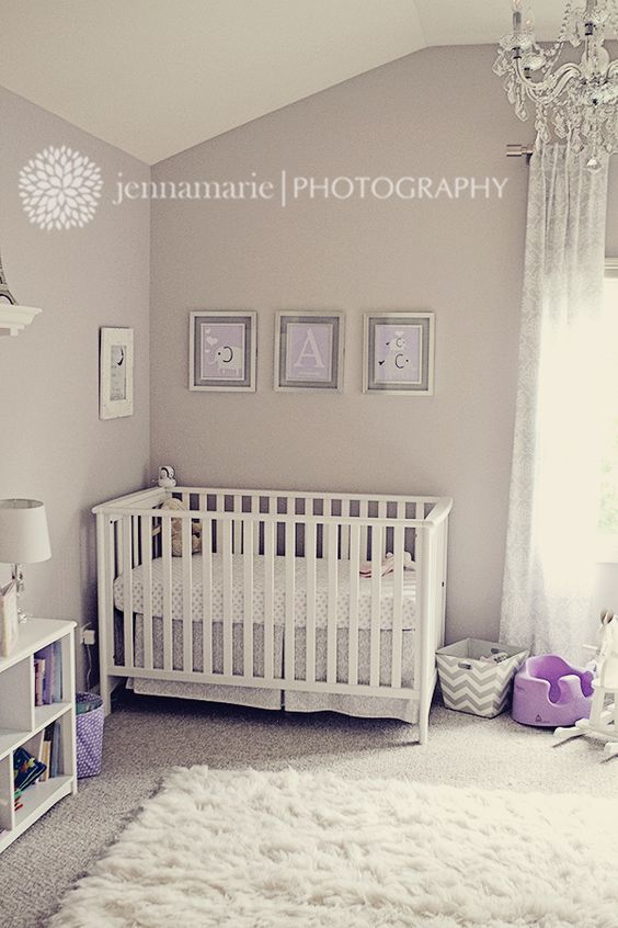 ab 39 s purple white and grey nursery actual nursery pieces pinterest the o 39 jays nurseries. Black Bedroom Furniture Sets. Home Design Ideas