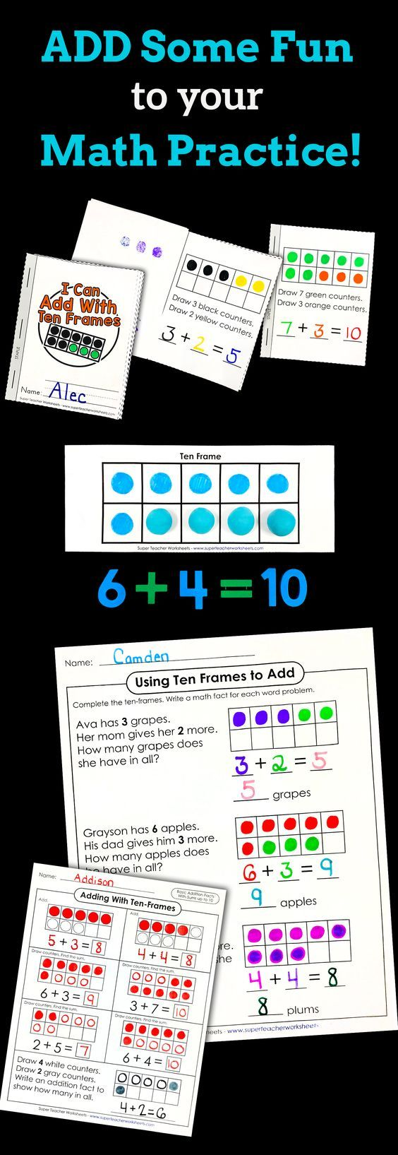 Pin By Aathira Rajeev On Maths Grade 1 Basic Addition Worksheets Super Teacher Worksheets Addition Worksheets