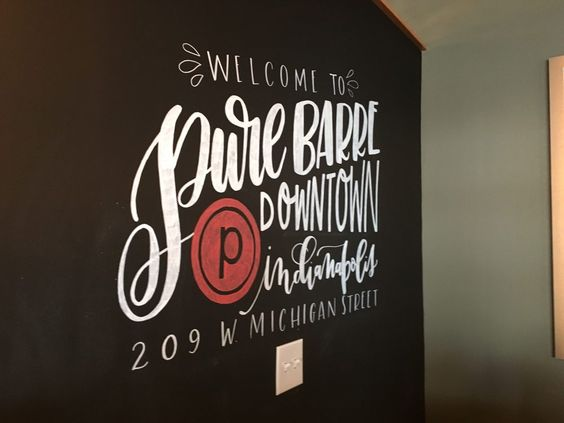 Photo Of Pure Barre Downtown Indy Indianapolis In United States Manayunk Calligraphy Pure Barre Pure Products Barre