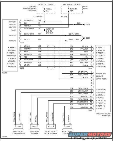 Diagram 2004 Ford Ranger Stereo Wiring, 2004 Mustang Stereo Wiring Diagram
