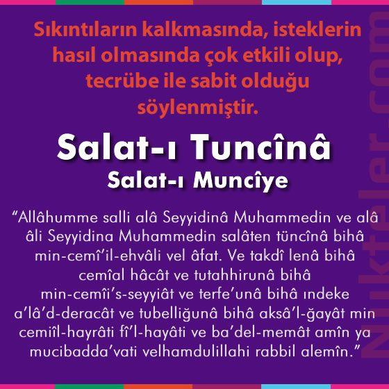 Salat-ı Münciye Duası, Anlamı ve Faziletleri – Arapça ve Türkçe Okunuşu Salaten Tüncina