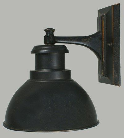 Outdoor Industrial Wall Light Terminal Range Colonial