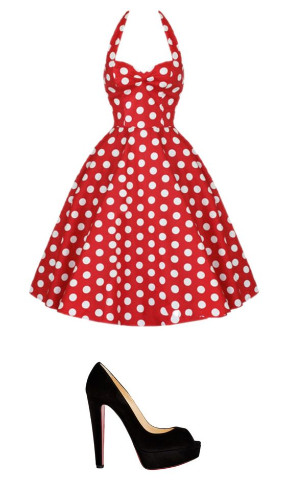 """Play recital"" by imaginebabe ❤ liked on Polyvore featuring Christian Louboutin"