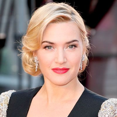 Kate Winslet is another classy lady we love, not to mention a blonde bombshell that can totally pull off the pink lips look.