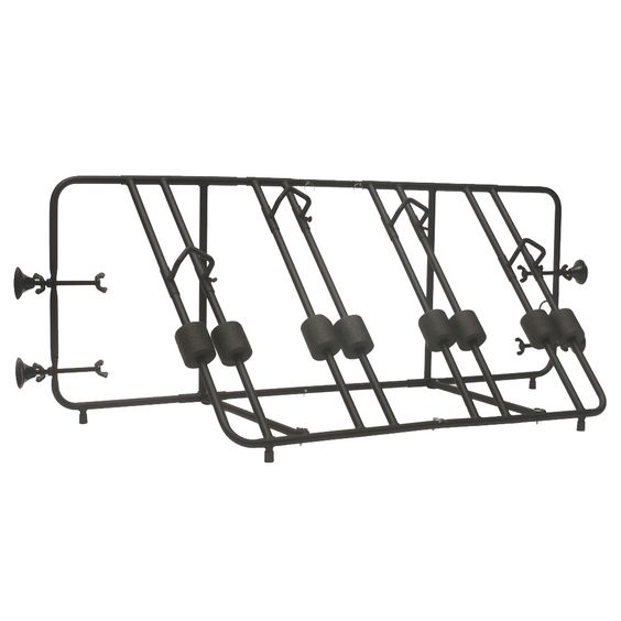 Advantage Truck Bed 4-Bike Rack, Black