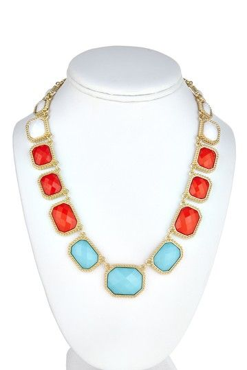 Kelly Necklace Collection Tricolor Necklace by Fornash on @HauteLook