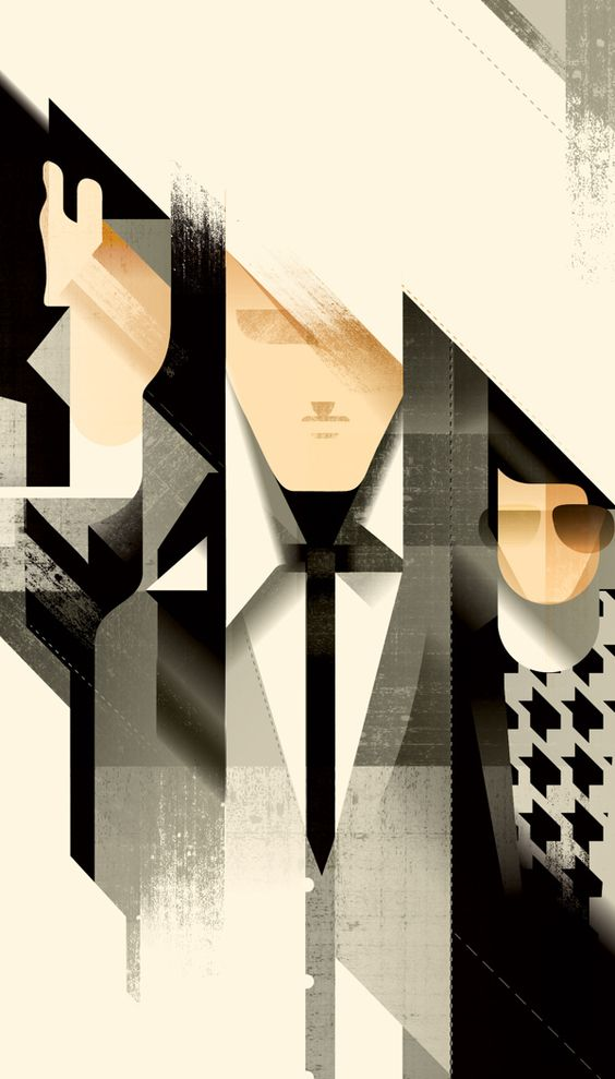 art deco inspired illustrations by mads berg art deco inspired pinterest