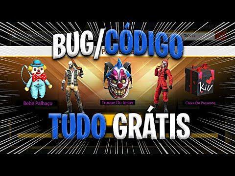 Novo Bug Codigo Para Pegar Todas As Roupas Do Free Fire De Graca