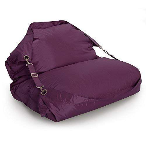 Bazaar Bag Flex Tres Grand Pouf Pour L Interieur Et L Exterieur Avec Sangles Pouf Mure Violette Pouf Poire Enfants Pouf Geant Pouf