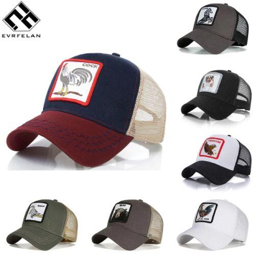 Vintage Farm Animal Goorin Bros Trucker Hat Mens Mesh Cap Snapback VTG