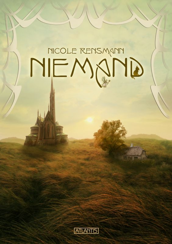 """Niemand"", Roman von Nicole Rensmann, Hardcover und eBook, Atlantis Verlag 2012, Illus & Cover: Timo Kümmel"