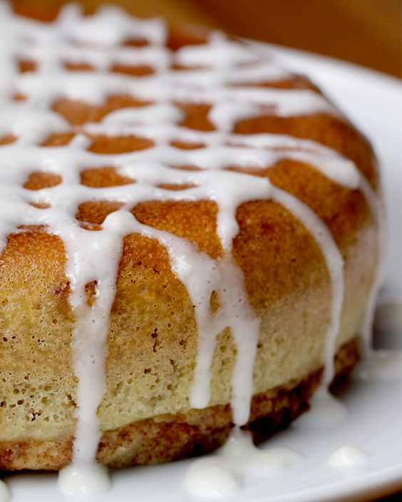 It's basically a magical fluffy bed of cinnamon goodness.