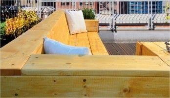 Sitzecke Fur Ihre Terrasse Bauen Sofa Selber Bauen Gartendesign Ideen Gartenlounge Selber Bauen