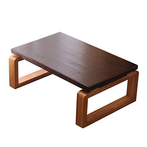 Chi Cheng Fang Electronic Business Coffee Tables Japanese Style Solid Wood Coffee Table Balcony Bay Win Coffee Table Coffee Table Wood Living Room Coffee Table