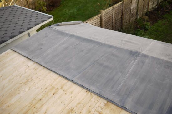 How To Instal Rubber Roofing In 2020 Rubber Roofing Roofing Epdm Roofing
