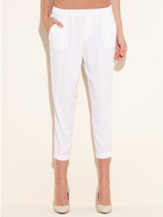 GUESS Tara Pull-On Solid Trousers $89.00