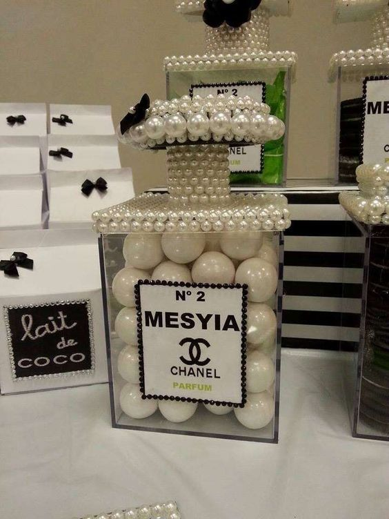 Chanel Birthday Party Ideas Pinterest Favor Boxes